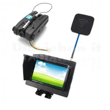 Sistema FPV Syma X5 5.8G con camera a 720p