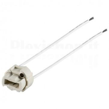 Socket in Ceramica per Lampade G9 Alogene o Led