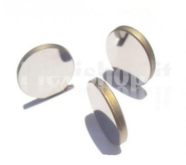 Specchio tondo riflettente in molibdeno per laser CO2, diametro 25mm