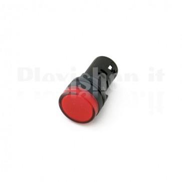 Spia luminosa da pannello Rossa AD16-22DS23
