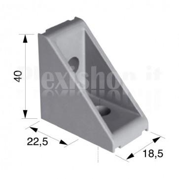Squadra esterna 40x40x18,5 mm