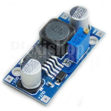 Switching regulator DC-DC with adjustable voltage, 5-35VDC