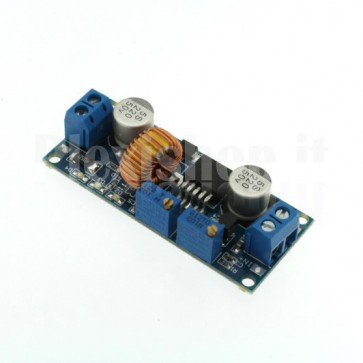 Switching regulator DC-DC with adjustable voltage and current, 1.25-36VDC 0-5A