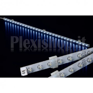 Strip Rigida 30 LED, col. Bianco, 12V DC