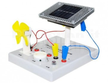 Strumento scientifico ad energia solare