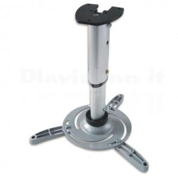 Supporto a Soffitto per Proiettori Estensione 60-102 cm Silver