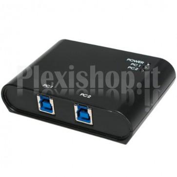Switch Automatico 2 Porte USB 3.0