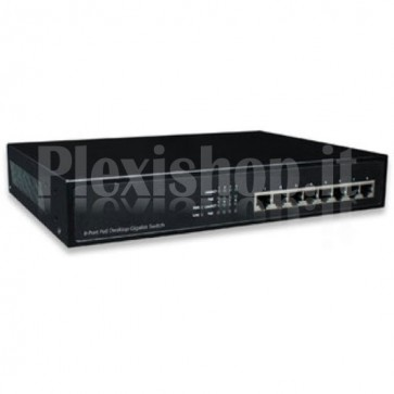 Switch Desktop 8 Porte Gigabit PoE