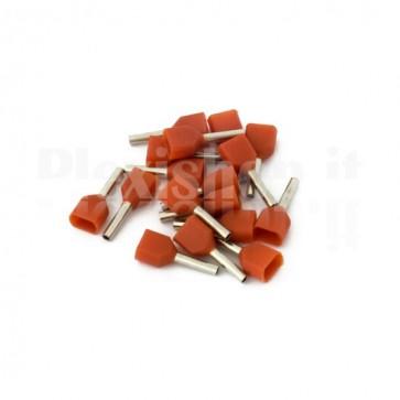 Puntale boccola doppio a crimpare - TE0508