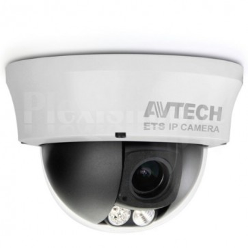 Telecamera Dome IP PoE AntiVandalo IR da Soffitto HD 1.3MP AVM332