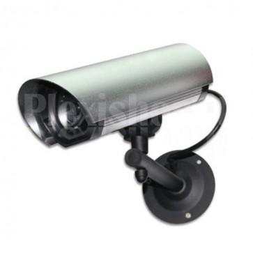 Telecamera Finta con Led per esterni