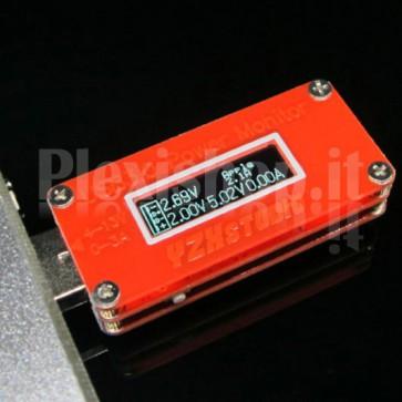 Tester USB 3.0 YZXstudio ad alta precisione, compatibile con Quick Charge 2.0