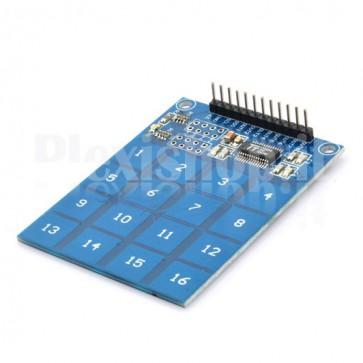 Tastiera Soft Touch switch 16 vie