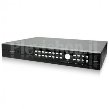Videoregistratore 16CH 4K UHD Real Time HD CCTV DVR Push Video, AVZ316