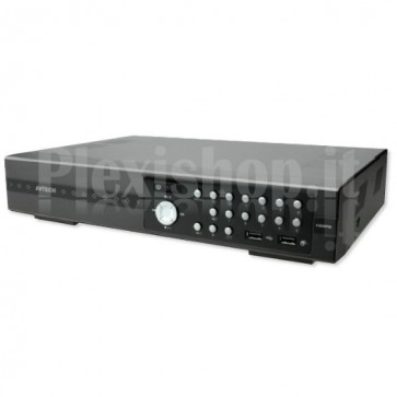 Videoregistratore 8 Canali Real Time HD CCTV DVR Push Video, AVZ308