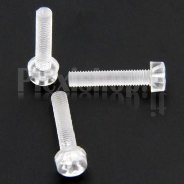 Acrylic Screw M3x15
