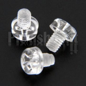 Acrylic Screw M3x4