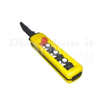 Comando Pensile 6 pulsanti + Emergenza - Velocità singola