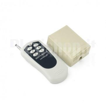 Kit telecomando ricevitore 6 canali 12V