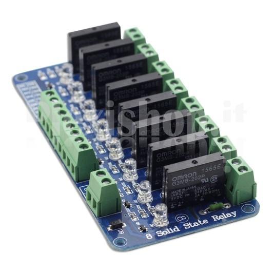 SainSmart 8-Channel 5V Solid State Relay Module