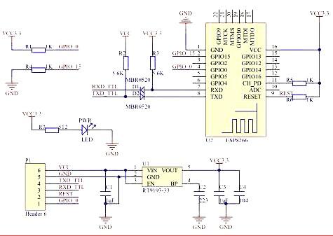 Plexishop it - Serial WiFi module ESP8266-32 ESP-32
