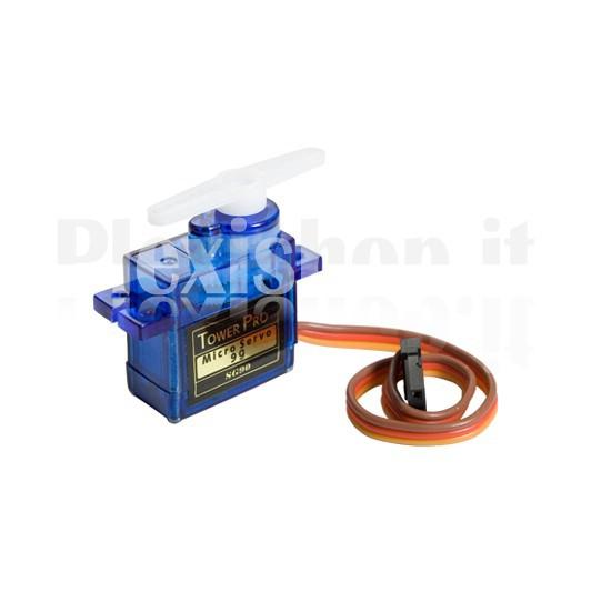 Towerpro sg90 mini servo mini servo for for Micro servo motor arduino