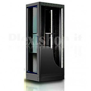 "Armadio Server Rack 19"" 600x1000 27 Unita' Nero serie Top"