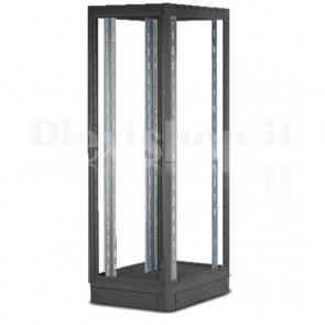 "Armadio Server Rack 19"" 600x1000 42 Unita' Nero Open Frame"