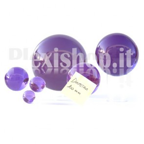 100 mm Violet Acrylic sphere