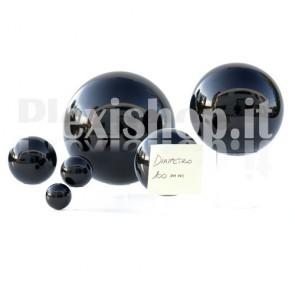100 mm Black Acrylic sphere