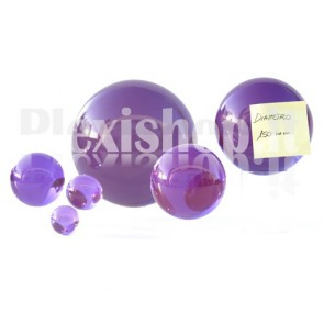 150 mm Violet Acrylic sphere