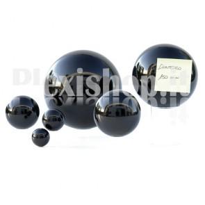 150 mm Black Acrylic sphere