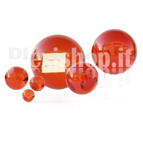 200 mm Red Acrylic sphere