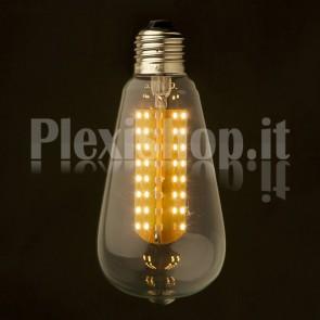 Lampadina Edison LED smd 3W - Retrò 64mm