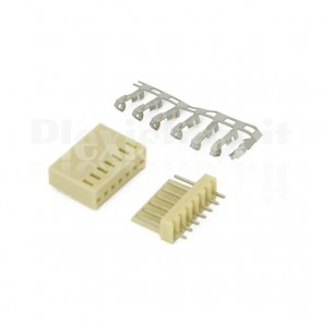 50 Connettori PCB 7 vie 2,54mm