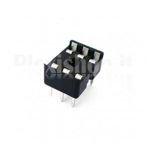 Zoccolo per circuito integrato 6 Pin