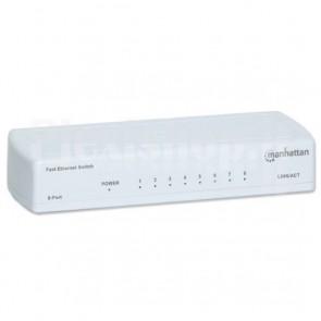 Switch 8 porte 10/100Mbps Fast Ethernet