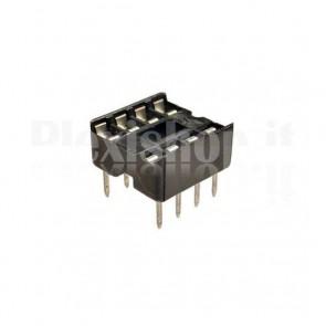 Zoccolo per circuito integrato 8 Pin