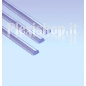 Half round Acrylic Rod Ø 15 mm