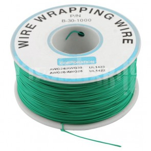 Bobina Cavo wire/wrapping 30AWG - Verde