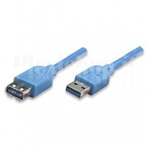 Cavo Prolunga USB 3.0 A maschio/A femmina 1 m blu