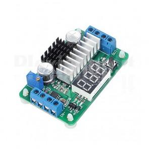 Circuito regolatore di tensione switching con LTC1871 e voltometro