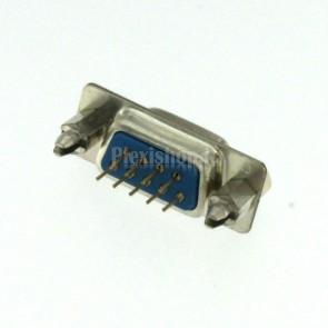 Connettore DP9 dritto da circuito stampato, maschio