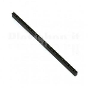 Connettore strip line pin femmina 1x 40 pins passo 2,00mm