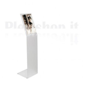 Plexiglass Freestanding Floor Display A4
