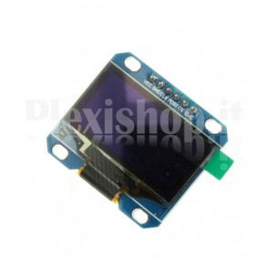"Display OLED LCD Blu 1.3"" SPI 6pin"
