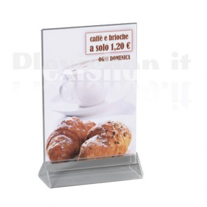 Double Sided Desk Display A4 (210 × 297 mm)