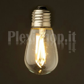 Lampadina Edison filamento LED 3.5W - Mini Retrò 45mm
