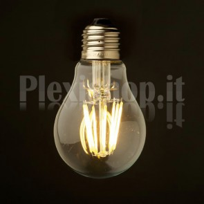 Lampadina Edison filamento LED 4.8W - Goccia 55mm