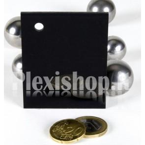 Black ACRIDITE 080 Plexiglass